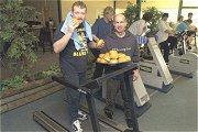Cafetariahouder organiseert ludieke trimloop