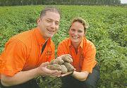 Cafetaria De Hulst doet goede zaken met eigen aardappelen