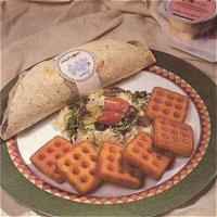 Roll 'm op Acropolis (Italiaans, met tortillas)