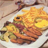 Annie van 's Kip Dip ( Nederlands, met kipdippers)