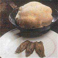 Fazant in zoutkorst met witlof(Nederlands, met fazantenhaan)