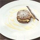 Nagerechten/ijscoupes met brood