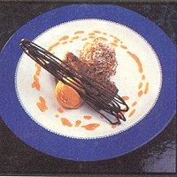 Nagerechten/ijscoupes met knol- en wortelgewassen