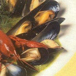 Snacks met schelpdieren