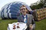 Dineren in een luchtballon