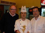Will Jansen en Alain Caron in Shanghai