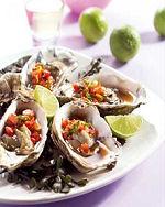 Verras uw Valentijnsgasten met oesters