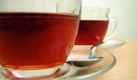 Pieken met thee