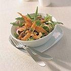 Gebakken tongreepjes met rucolasalade