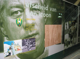Fotoreportage stadioncatering: Sodexho gelooft in ADO