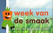 Week van de Smaak evenement à la Boekenweek