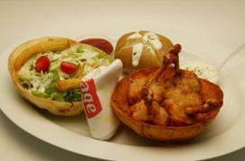 Michael Porst: Chicken lollie menu