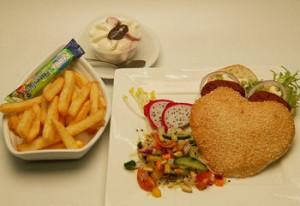 Peter Uden: Hartburger menu