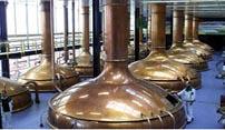 Het brouw-proces van bier