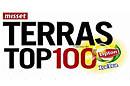 Complete ranglijst Terras Top-100