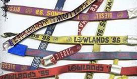 Lowlands-polsbandje