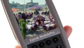 Mobiele kassa met webcam
