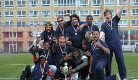 Team The Colour Kitchen A'dam wint First Inspiration Tournament