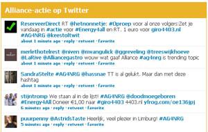 Twitterfountain #AG4NRG