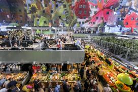 Markthal trekt 350.000 bezoekers in eerste week
