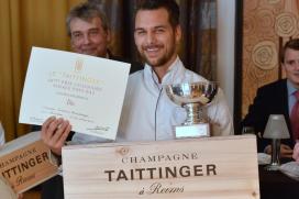 Jonathan Zandbergen opnieuw naar finale Prix Culinaire Le Taittinger