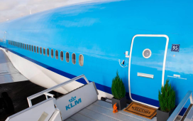 KLM met pop-up hotel op Airbnb