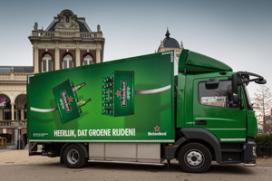 Heineken gaat groen rijden in Amsterdam