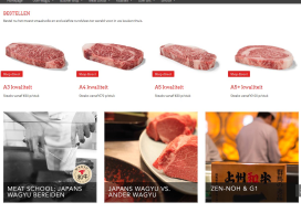 Webshop met Japans Wagyu vlees gelanceerd