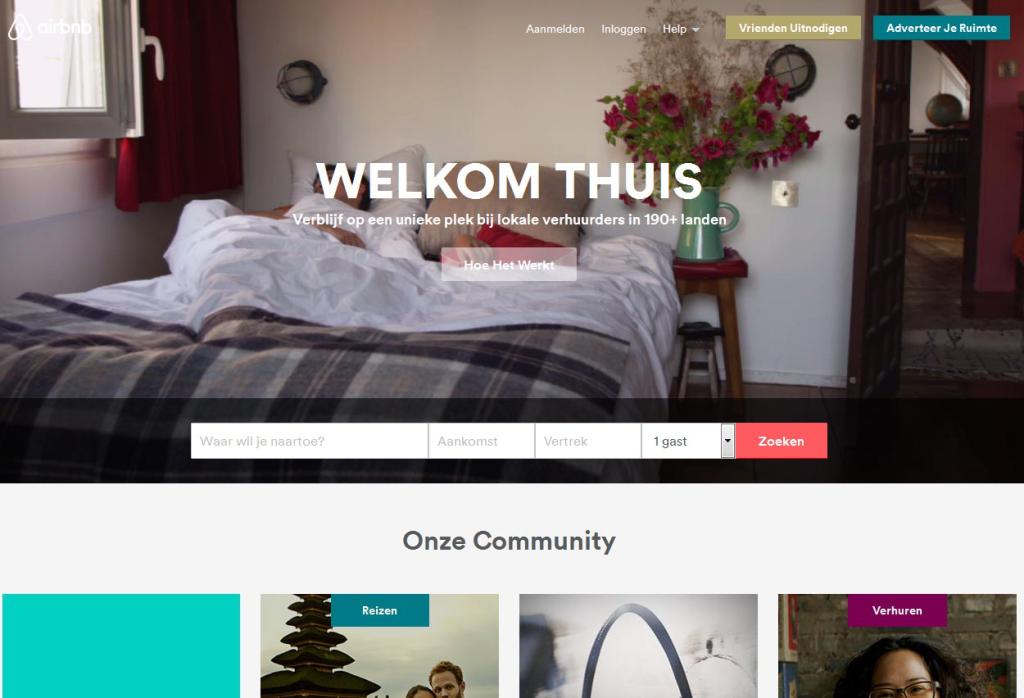 KHN: 'sterke opkomst Airbnb buiten Randstad vraagt om maatregelen overheid'