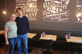 Ellis Gourmet Burger naar Prinsengracht Amsterdam