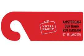 Hotelnacht gelijktijdig in Amsterdam, Rotterdam en Den Haag