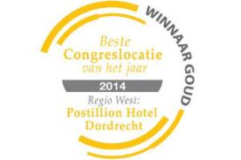 Postillion Hotel Dordrecht is Beste Congreslocatie 2014 regio West