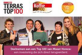 Inschrijven Terras, Café, Koffie en Cafetaria Top 100 op de Horecava