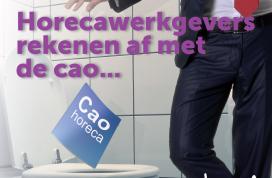 FNV: 'We moesten toiletposter Horecava aanpassen