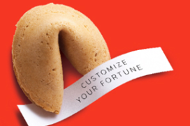 Schilo van Coevorden verpakt liefdesboodschap in koekje
