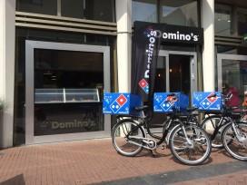 Dordrecht: eerste Domino's die alleen op de fiets bezorgt