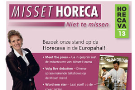 Misset Horeca pakt uit op Horecava!