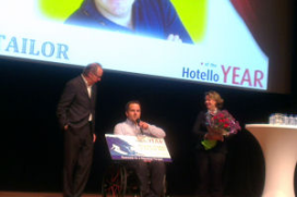 Niek van den Adel is Hotello of the Year