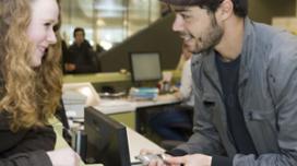 Kantine universiteit vervangt vieze banken