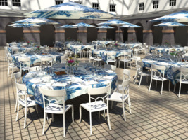 Select Catering levert 3D impressies