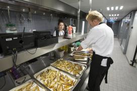 Gunstige werktijden maken catering aantrekkelijk
