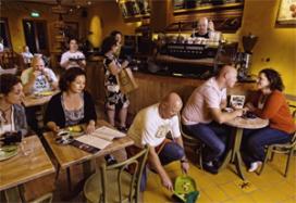 Koffie Top 100 nr. 61: Bagels & Beans (Spaarndammerstraat), Amsterdam