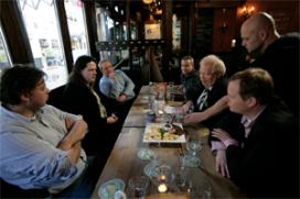 Tentoonstelling verbinding Utrechts Studenten Corps en café Dikke Dries