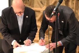 Stenden en Gastvrijheidsgilde tekenen samenwerkingsovereenkomst
