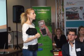 Terras Bootcamp-blog Amy Bovelander: 'Bestellen en betalen met eigen telefoon