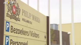 Facilicom-medewerkers Philip Morris voeren actie