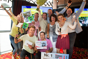 Wollebrand wint Terras Top 100 2014