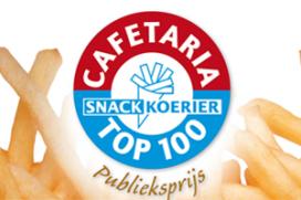 Drie finalisten Publieksprijs Cafetaria Top 100