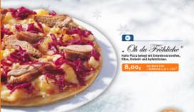 Neem eens een kerstpizza