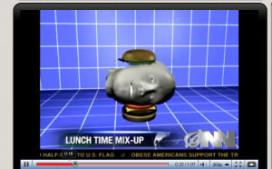 Hoofd in hamburger